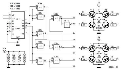 Stepper Motor Control Circuit Schematic Impremedia