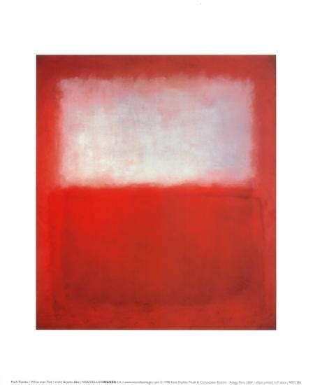 white  red posters  mark rothko  allposterscom