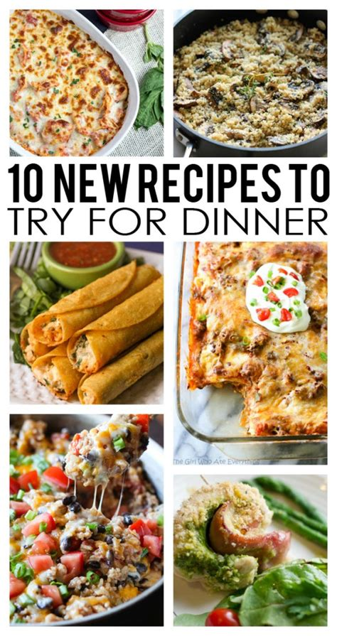 great new recipes to try top 28 new recipes to try food bucket list ideas 10 new recipes to try eighteen25 100