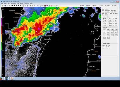 Weather Radar Bay Storms Door August Wisconsin