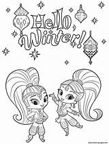 Shine Shimmer Coloring Pages Winter Printable Sheets Print Cute Halloween Rocks Hello Leah Cartoon Books Activities Tala Christmas Colors Getcoloringpages sketch template