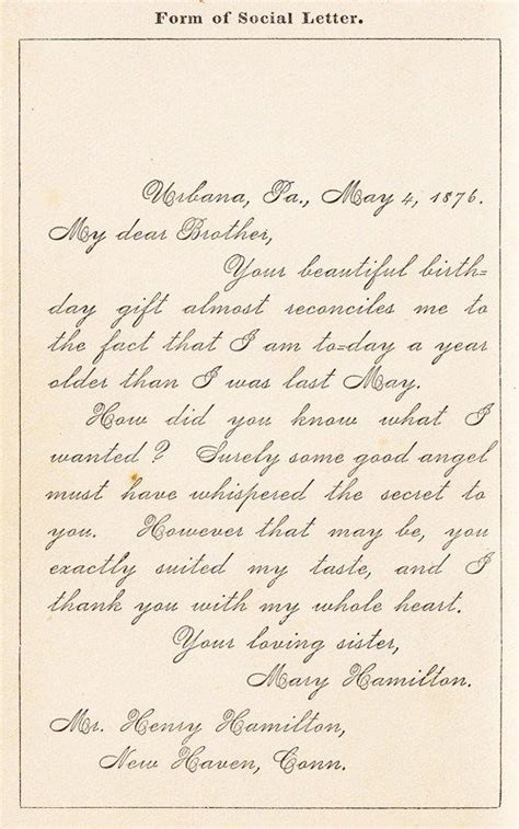 write letters   century guide   lost art