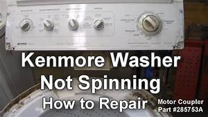 Kenmore Washer Not Spinning