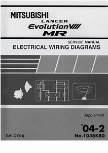 Lancer Evolution 8 Electrical Wiring Diagram Pdf  1 21 Mb