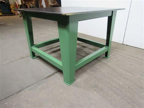 steel welding work bench       thick top