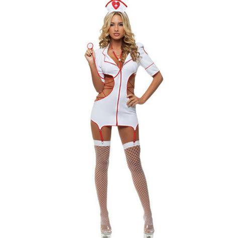 Sexy Nurse Lingerie Uniform Temptation Nightclub Clothes