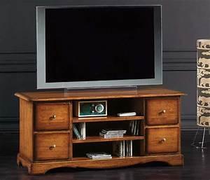 Porta Tv Classico 4 Cassetti