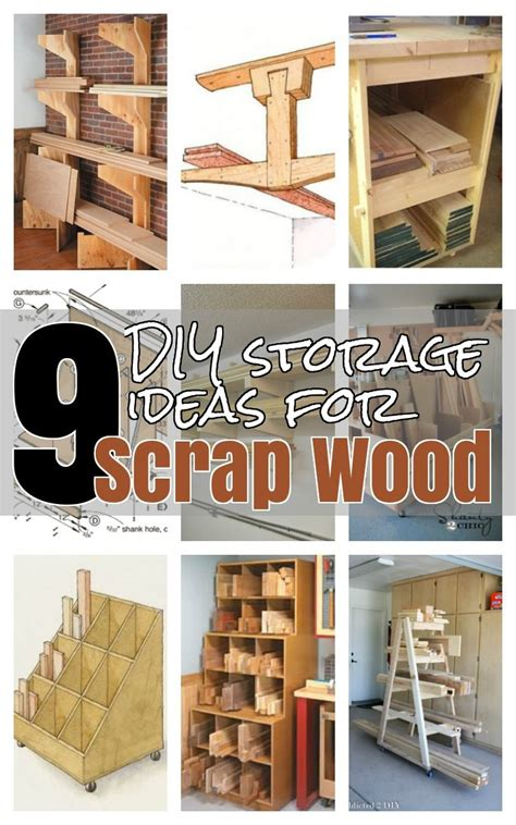 diy ideas  wood storage shop organization lumber storage woodworking shop layout wood
