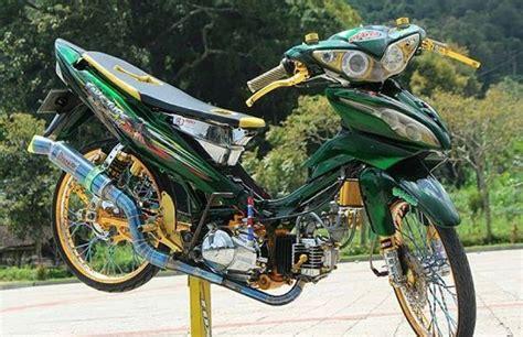 Modif Jupiter Z 2004 by Modifikasi Jupiter Z 2019 Bergaya Road Race Dan Jari Jari
