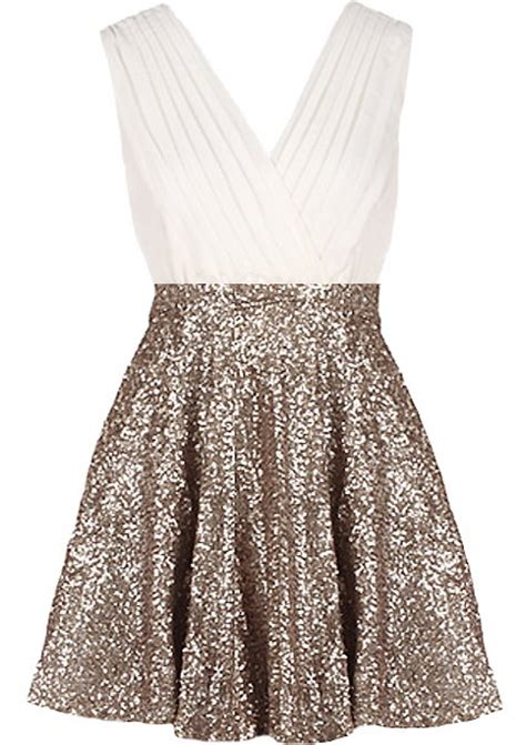 glitter empress dress sequin empire waist skater dresses