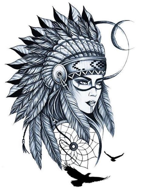 eye catching tattoo sketches design ideas  indian girl