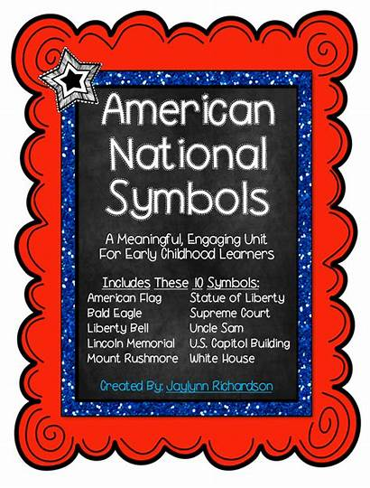 American National Symbols Lesson Early Studies Social