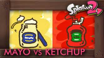 Splatoon 2 - Splatfest MAYO vs. KETCHUP Announcement ...