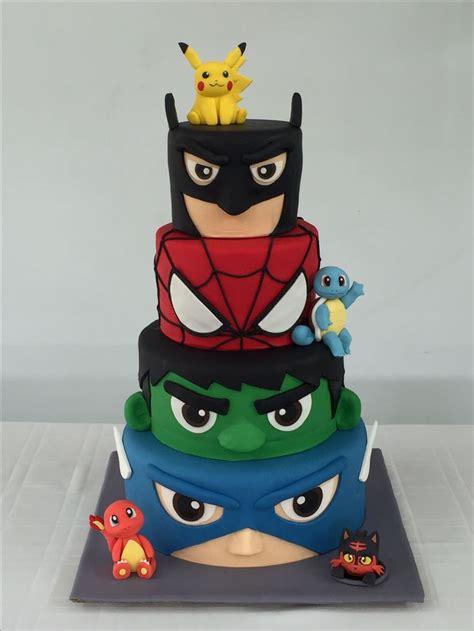 Baked in three round cake. Best 25+ Marvel cake ideas on Pinterest | Marvel birthday ...