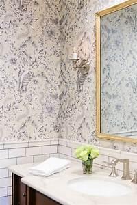 Papier Peint Pour Salle De Bain : papier peint pour salle de bains une s lection originale ~ Dailycaller-alerts.com Idées de Décoration