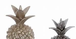 Ananas Deco Argent : d co ananas d coratif en r sine atmosphera ~ Teatrodelosmanantiales.com Idées de Décoration