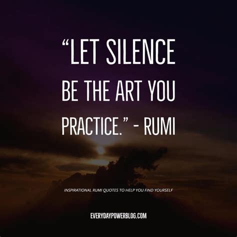 Rumi Quotes In 10 Rumi Quotes To Help You Find Yourself Everyday Power