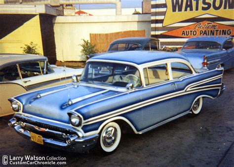 Larry Watson 57 Chevys  Custom Car Chroniclecustom Car
