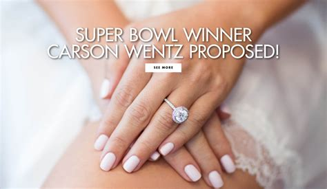 super bowl winner carson wentz proposed  weddings