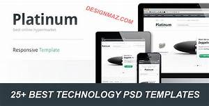 25 Best Technology PSD Templates DesignMaz
