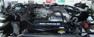 Petrol Engine Cylinder Head For Toyota Land Cruiser 3400  4 Hi T100   Tacoma  Tundra 5vz