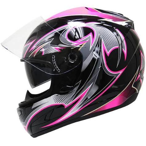 ladies motorcycle helmet cheap motorcycle helmets hawk black pink glossy full