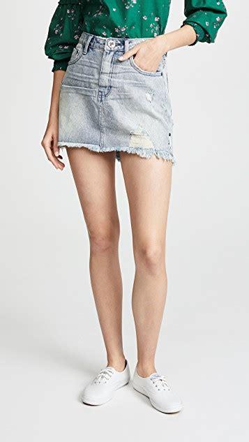 2020 Mini Skirt by One Teaspoon High Waist 2020 Miniskirt Shopbop