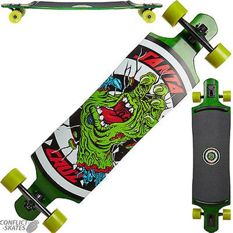 downhill longboard decks uk santa rob drop thru skateboard longboard 40