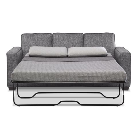 Sleeper Sofa With Memory Foam by Sterling Memory Foam Sleeper Sofa With Chaise Charcoal