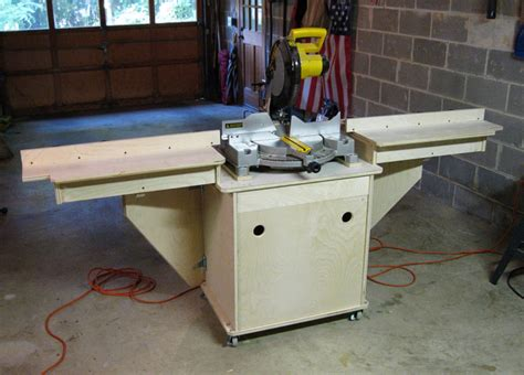portable table saw stand plans free pdf compound miter saw stand diy diy free plans download