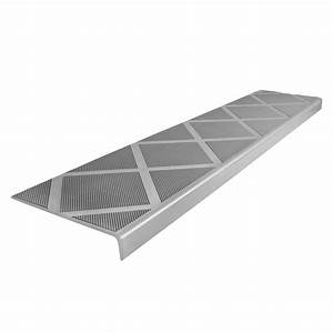 ComposiGrip Composite Anti-Slip Stair Tread 48 in Grey