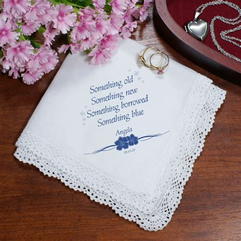 custom monogrammed women 39 s handkerchiefs brides something personalized wedding handkerchief personalized