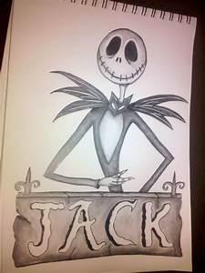 Jack Skellington Pencil Drawings | halloween | Pinterest ...