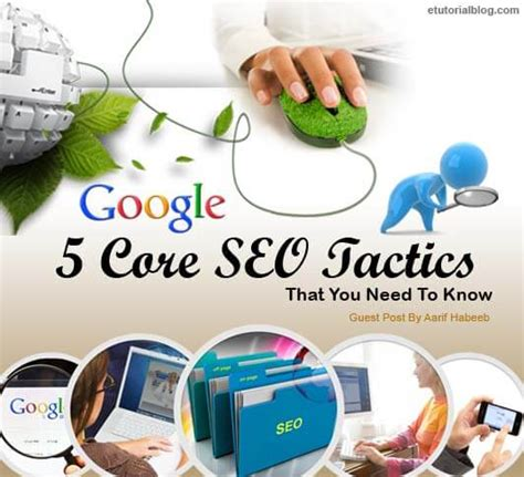 Search Engine Optimisation Techniques by 5 Search Engine Optimization Techniques You Must