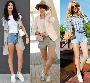 Styles Ideas Various Cute Short Outfit Ideas for All Seasons | Gorgeautiful.com