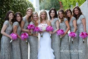 grey sequin bridesmaid dresses 15 pretty sequin bridesmaids dresses aisle
