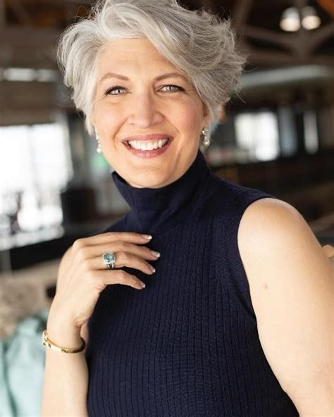 9 Super Cute Hairstyles for Women Over 50 The Rebel Chick