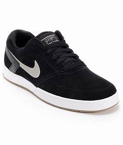 Nike SB P-Rod 6 Lunarlon Black, Medium Grey, & White Skate ...