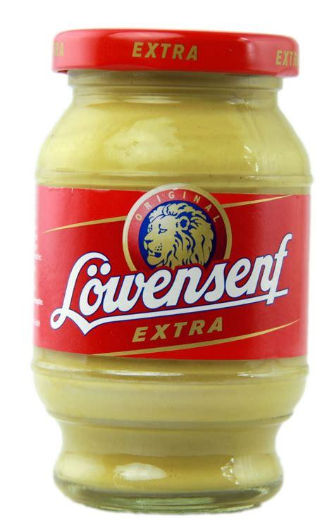 german mustard l 246 wensenf german mustard food finds pinterest