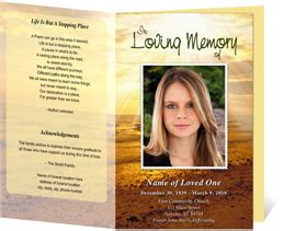 Funeral Handouts Template by Funeral Programs Funeral Handouts Programs For Funerals