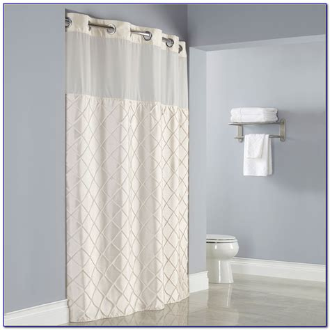 hookless shower curtain liner vince camutoreg lyon shower curtain bed bath and beyond