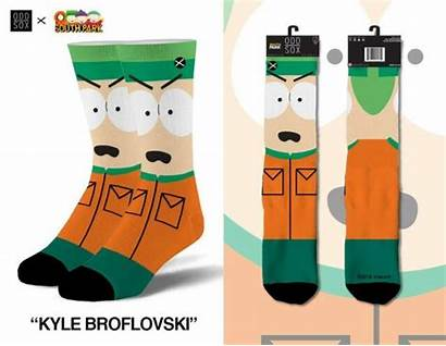 Odd Cartoon Sox Socks Broflovski Kyle Crew
