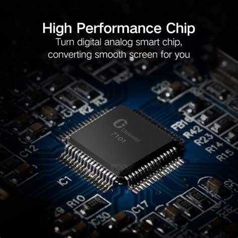 vga to hdmi converter ugreen hdmi to vga connector audio adapter to