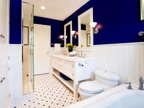 bathroom decorating ideas color schemes modern accessory ideas for bathroom color schemes with large blue accent wall facing high glass