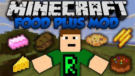 mod鑞es cuisines minecraft food plus mod 1 10