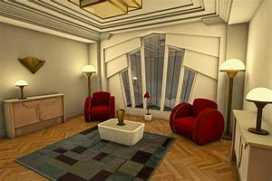 Classic Art Deco Living Room by Liam Liberty