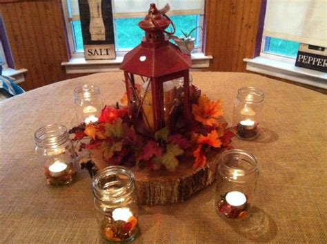 playing   fall centerpieces burlap table cloth