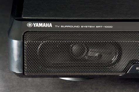 yamaha srt 1000 yamaha places its convincing surround tech in a pedestal with the srt 1000 digital trends