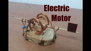 How To Make An Electric Motor Open Fram