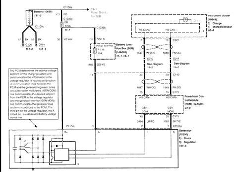 alternator regulator wiring gem help taurus car club of america ford taurus